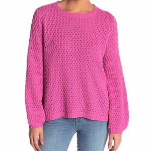NWT 14th & Union Pink Knit Sweater